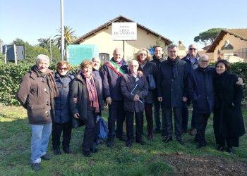 Maccarese, intitolato parco alla partigiana e sindacalista…