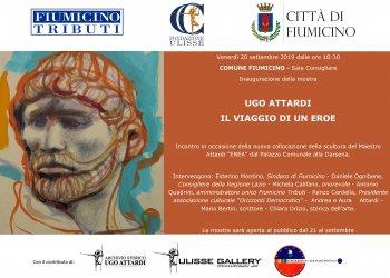 Inaugurazione mostra e convegno sullo scultore Ugo…